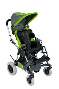 Green Center Stripe Kid Kart Upholstery