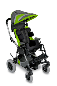 Green  Cross-Over Kid Kart Upholstery