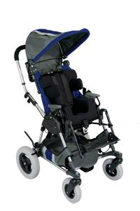 Navy Blue Center Stripe Kid Kart Upholstery