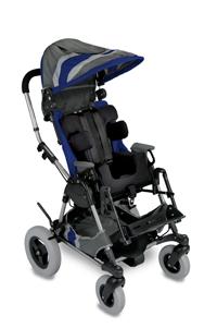 Navy Blue  Cross-Over Kid Kart Upholstery