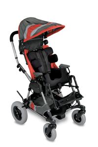 Orange  Cross-Over Kid Kart Upholstery