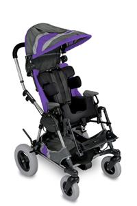 Purple Cross-Over Kid Kart Upholstery